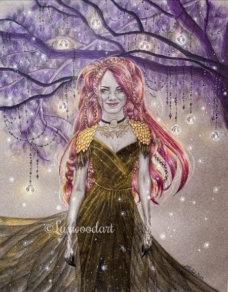 Never lost - Original illustration - Emma Stone Fanart