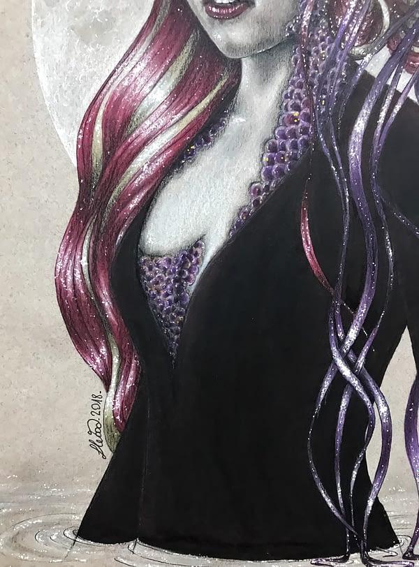 The Queen of the seven seas - original illustration - Game of Thrones art