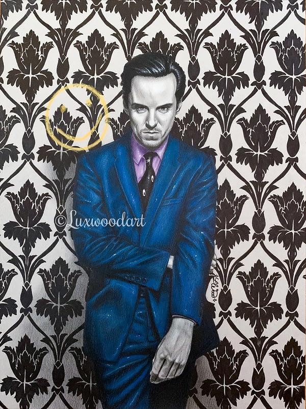 moriarty - Original illustration - Sherlock Fanart