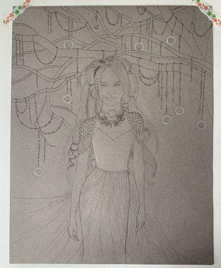 Never lost - work in progress- Emma Stone Fanart