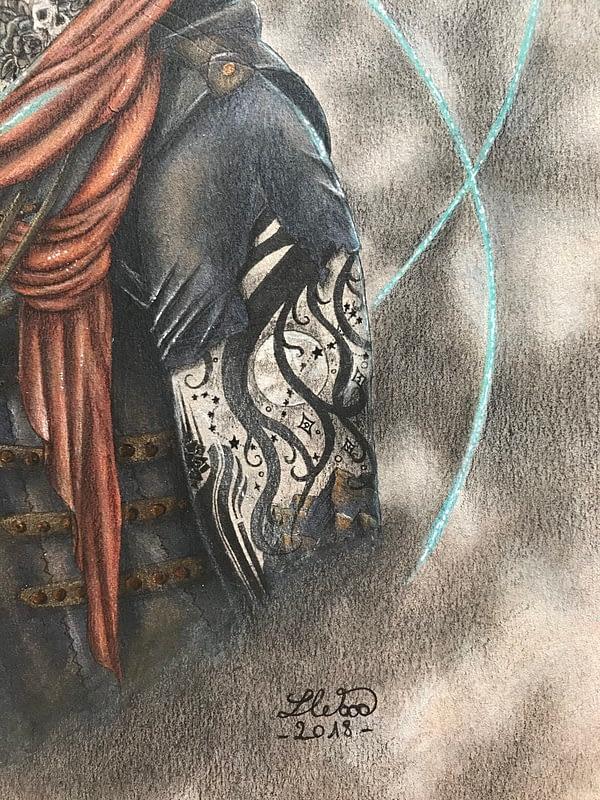The Otherworldly man - original illustration - Hero Corp art